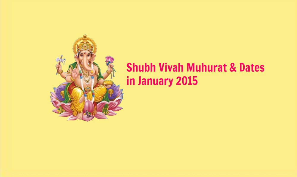 Calendar Vivah Muhurat : Wedding dates in january shubh vivah muhurat