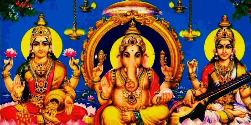 lakshmi-ganesh-saraswati